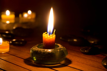 candela, cera d'api, miele