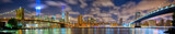 Fototapety Manhattan panorama in memory of September 11, New York City