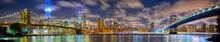 壁紙(ウォールミューラル) - Manhattan panorama in memory of September 11, New York City