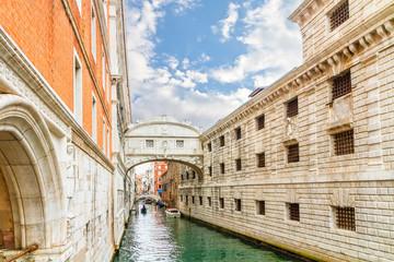 Bridge of Sighs - Ponte dei  Sospiri.Venice,Veneto, Italy, Europ
