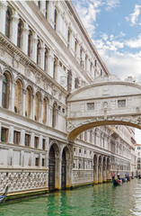 Bridge of Sighs - Ponte dei  Sospiri.Venice,Veneto, Italy, Europ