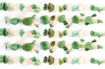 Edelsteine Heilsteine grün Fluorit Muster