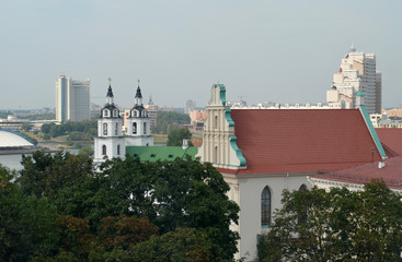Minsk city view