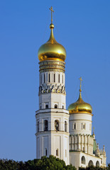 Belltower of the Ivan the Great in the Moscow Kremlin