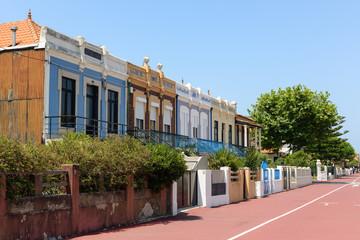 Edifícios na Aguda