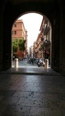 Arco de entrada al barrio de El Carmen