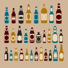 Beer vector collection