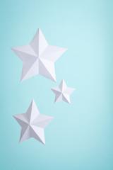 Three Paper Stars