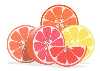 Fresh ripe oranges