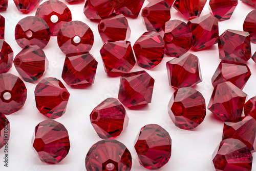 Macro Shot of A Collection Of Red Beads - 70815110