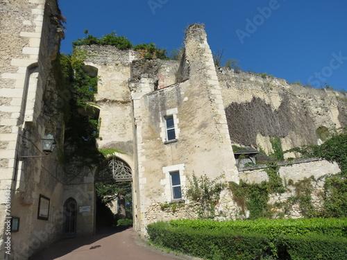 Papiers peints Fortification Indre-et-Loire - Montrésor - Entrée de la forteresse