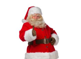 Santa Claus thumbs up