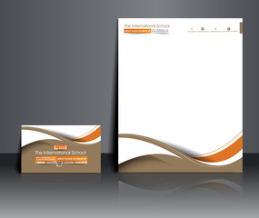 Set of Business Corporate Identity Template.