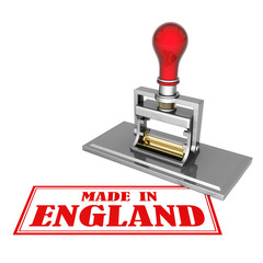 made in England beautiful stamp