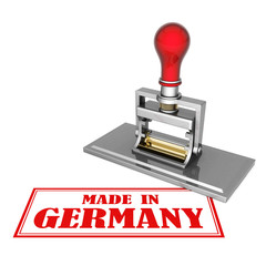 made in Germany beautiful stamp