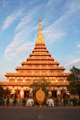 Phra Mahathat Kaen Nakhon, Temple Khon Kaen Thailand