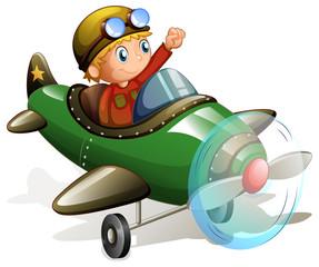 Plane and pilot