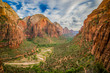 landscape from zion national park utah - 70821353
