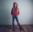 canvas print picture - Fashion child