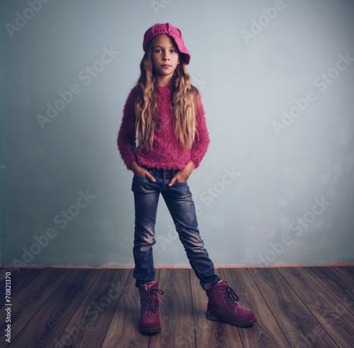 canvas print picture Fashion child
