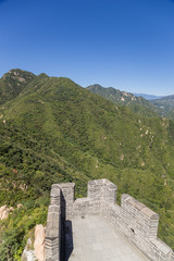 China, Juyongguan. The highest point of the Great Wall