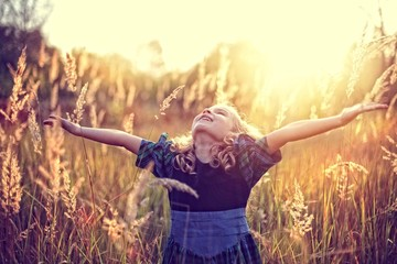 Freedom! carefree childhood