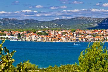 Pirovac coastal town waterfront view