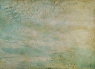 Grunge cloud background