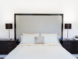 Fototapety Contemporary bedroom or hotel suite