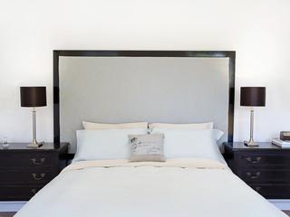 Contemporary bedroom or hotel suite