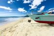canvas print picture - A Philippinian Beach