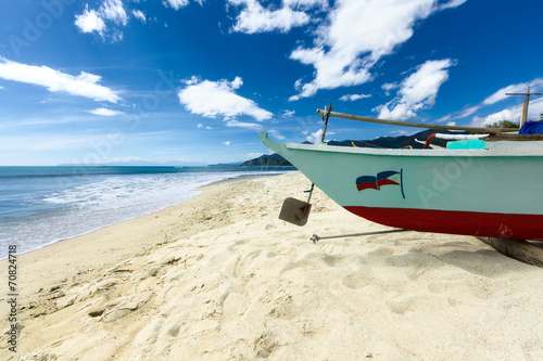 canvas print picture A Philippinian Beach