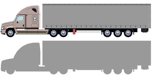 Beige truck