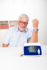 anzeige beim blutdruck messen
