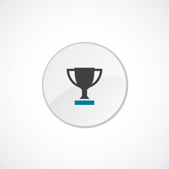 winner cup icon 2 colored .