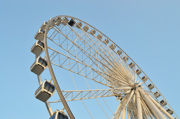Big Ferris wheel at Asiatique