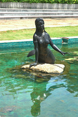 statues mermaid