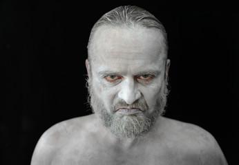 Emotionsportrait Unzufriedener Mann