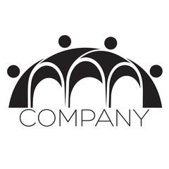 an logo is a bridge