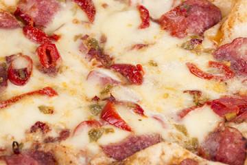 Tasty italian pizza.