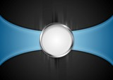 Fototapety Abstract background with silver circle shape
