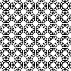 Design seamless monochrome geometric lattice background