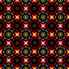 Design seamless colorful decorative pattern