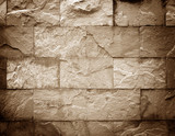 Fototapety Old stone wall brown