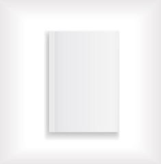 magazine blank cover white