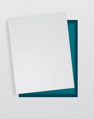 paper sheet blank abstract background