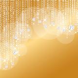 ゴールド ダイアモンド 背景 - 70835502