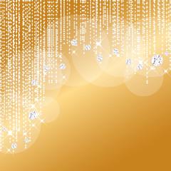 ゴールド ダイアモンド 背景