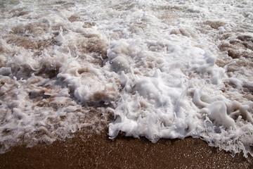 Splashing wave.