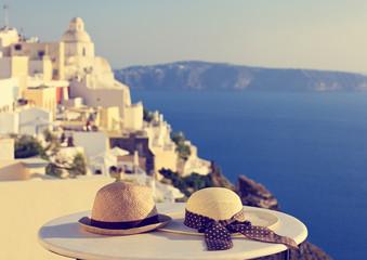romantic vacation in Santorini